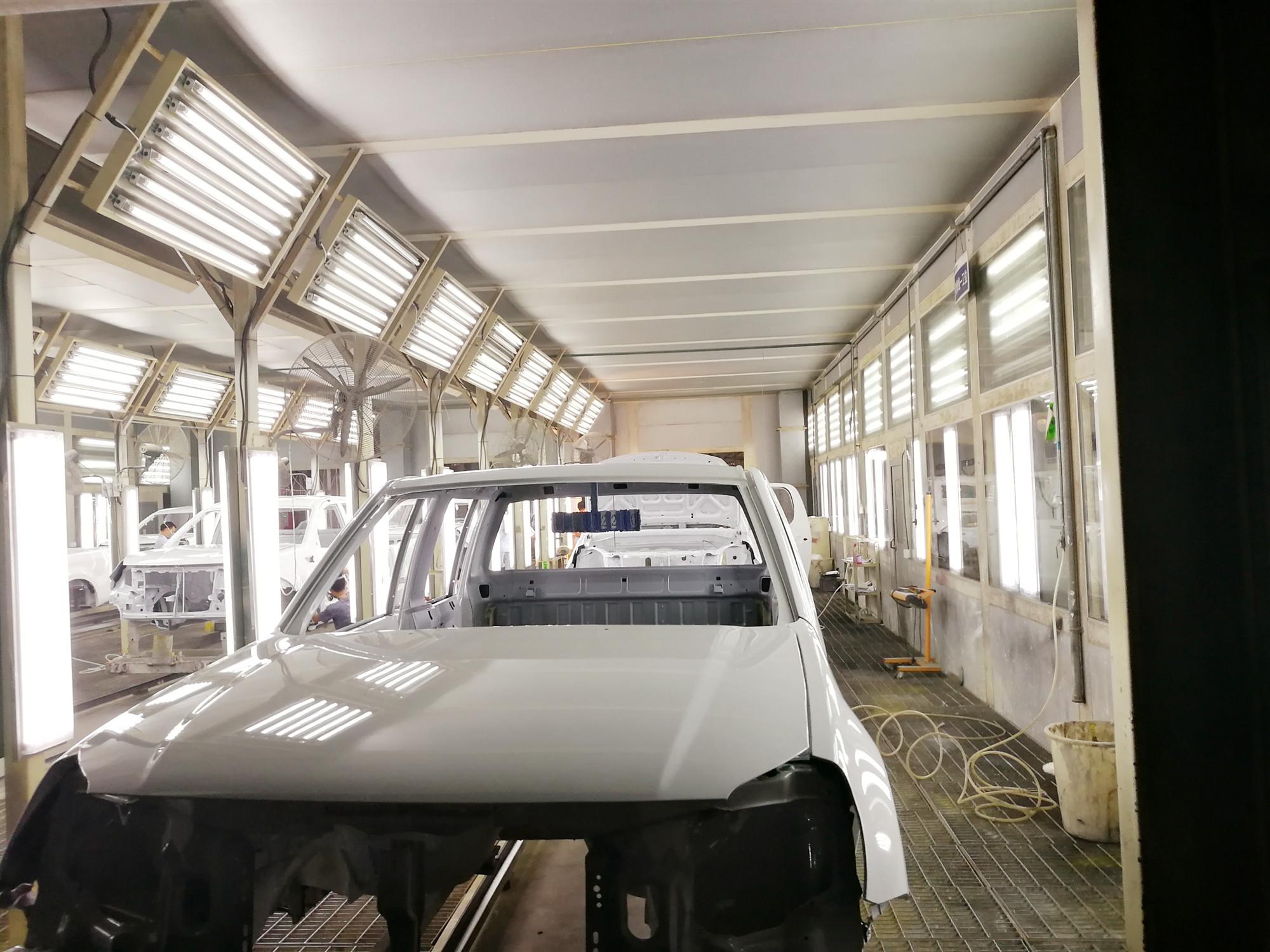 吉林汽车涂装生产线
