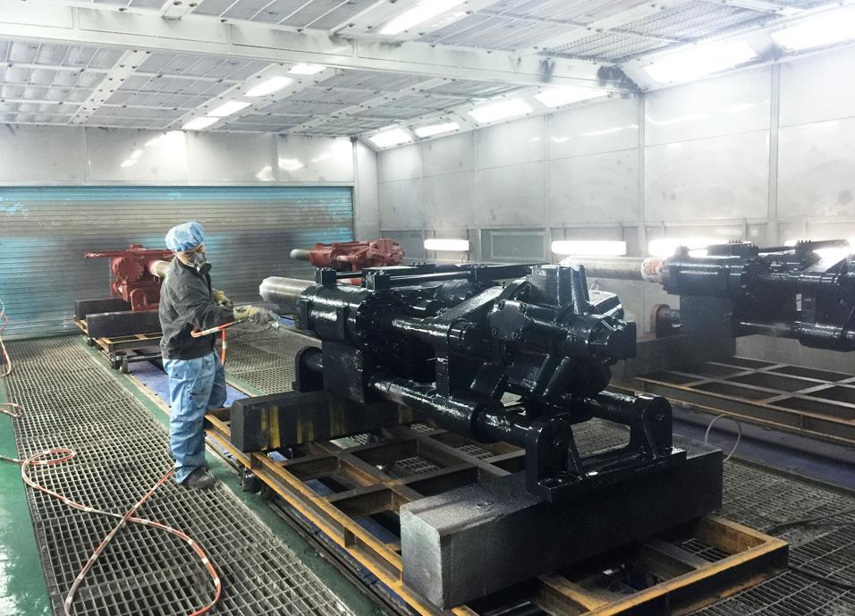 吉林机械喷漆设备